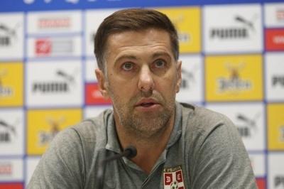 Післяматчева прес-конференція наставника збірної Сербії