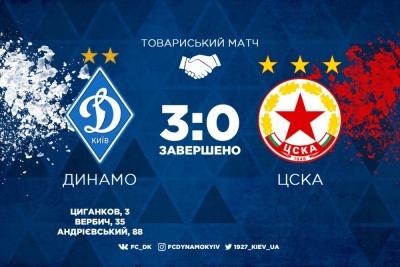 «Динамо» розгромно переграє ЦСКА (Софія) двома різними складами