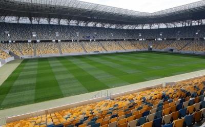 На «Арене-Львов» показали новый суперсовременный искусственный газон стадиона