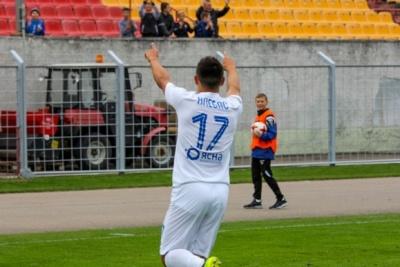 Дмитро Хльобас прокоментував переможний гол, який він забив у мінському дербі
