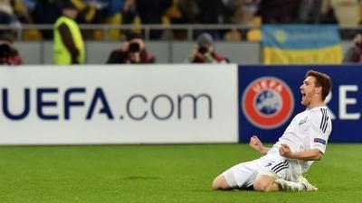 Розкішний м'яч екс-динамівця потрапив у список найкращих голів 1/8 фіналу Ліги Європи