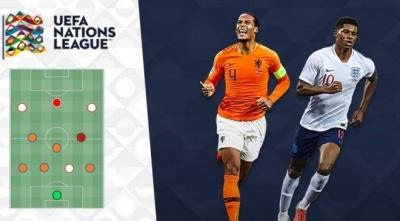 Символічна збірна фінального турніру Ліги націй: нідерландська оборона з британською атакою