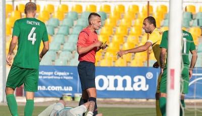 Виноват! УАФ проанализировала действия арбитра матча «Ингулец» – «Прикарпатье»