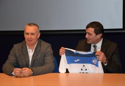 «Сталь» представила Кучука в якості головного тренера