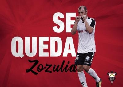 Зозуля продовжив контракт із «Альбасете»