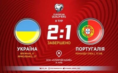Збірна України у меншості здолала чемпіонів Європи