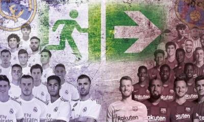 Marca: Из «Реала» и «Барселоны» летом могут уйти 30 игроков. Лунин гарантированно останется в мадридском клубе
