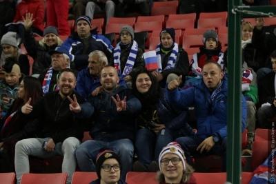 Словацкие болельщики: «Вернули украинцев с небес на землю. Пусть задумаются о лозунге УЕФА «Респект»