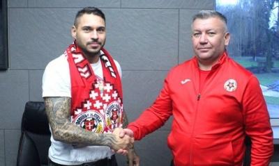 «Волинь» підписала хавбека, який ставав чемпіоном Білорусі з БАТЕ