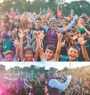 Гонсалес взяв участь у благодійній акції для парагвайських дітей