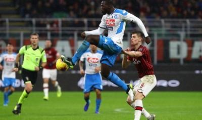 «Наполи» — «Милан»: прогноз букмекеров на поединок Серии А