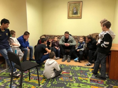 Беседин посетил Центр социально-психологической реабилитации детей в Харькове