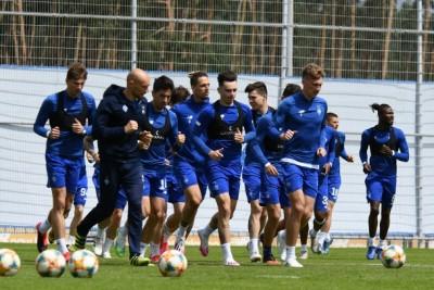 «Динамо» займається на клубній базі: повноцінна робота та звичний режим тренувань