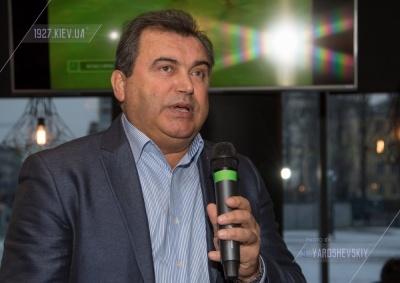 Ігор Суркіс привітав Вадима Євтушенка ювілеєм