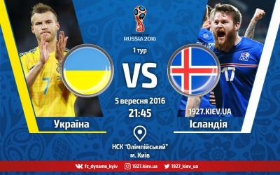 Україна - Ісландія: прогноз букмекерів