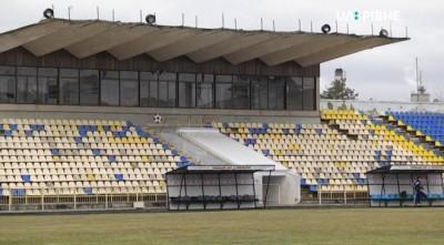 На стадіоні «Вереса» обвалилася трибуна