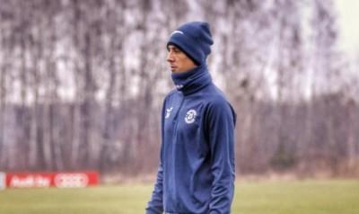 Хачеріді провів перше тренування в «Динамо-Брест»