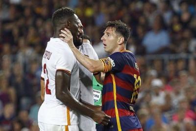 Мессі схопив за горло та вдарив головою захисника «Роми»