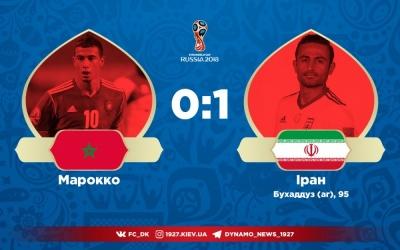 Беланда з Марокко програє Ірану на останніх хвилинах