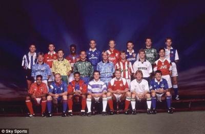 У чому англійські клуби грали в минулому столітті