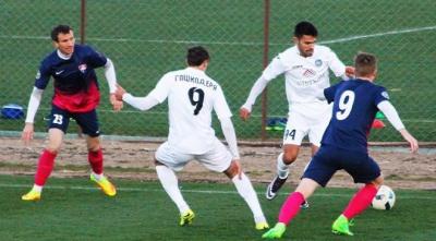 «Олімпік» провів товариський матч з казахським клубом