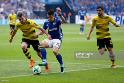 Гол Коноплянки допоміг «Шальке» обіграти «Боруссію» Дортмунд