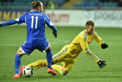Андрій Ярмоленко — найкращий гравець матчу проти Кіпру