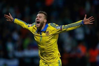 Ярмоленко — найкорисніший гравець в матчі проти Словаччини