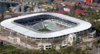 Стадион «Черноморец» отключили от отопления, но матч с «Арсеналом» состоится