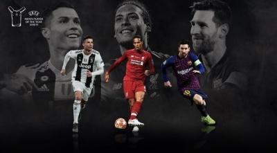 Визначились претенденти на нагороду гравця сезону 2018/19 від УЄФА
