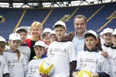 Павелко проінспектував стадіон «Металіст»