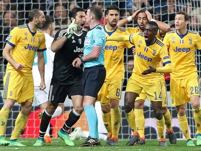 «Щоб ти вср*вся» та «ви йому заплатили» – що кричали Буффон та Ко під час скандального пенальті у матчі «Реал» - «Ювентус»