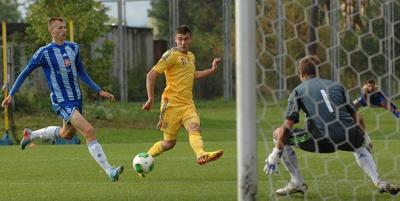 Спарринг. «Динамо» (смешанный состав) – Украина (U-21) – 1:2