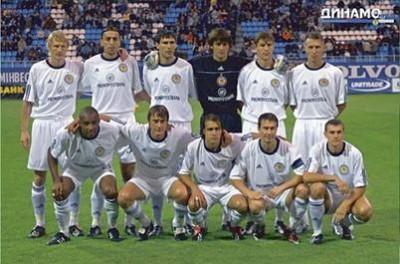 Чемпионский аккорд «Динамо» 2003 года
