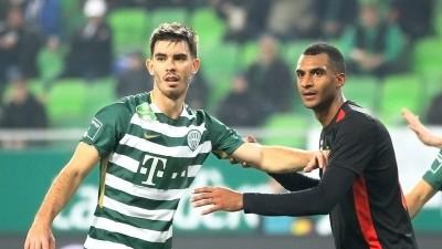 «Ференцварош» Реброва упустил победу на последних минутах. Харатин забил гол