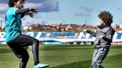 Син Марсело у складі дитячої команди «Реала» програв Барселоні 0:6 – бразилець вже вдруге став свідком подібного розгрому