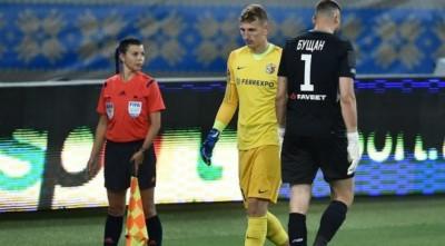 Игроки «Динамо» поддержали голкипера «Ворсклы» после победы над полтавчанами в финале Кубка Украины