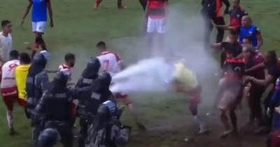 Жорстоке побоїще в матчі чемпіонату Бразилії – так не бились навіть гравці «Динамо» та «Шахтаря»