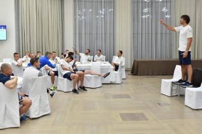 Шовковський пройшов посвяту у якості тренера збірної України