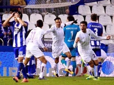 «Малага» та «Депортіво» забили сім голів на двох