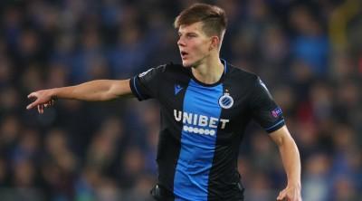 Эдуард Соболь снова вошел в число лучших игроков «Брюгге»