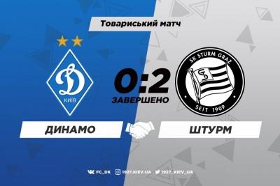 «Динамо» - «Штурм» 0:2. Огляд матчу