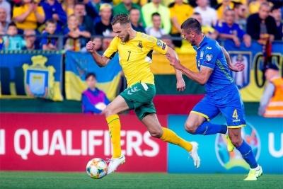 Капитан Литвы: «Будет приятно вспомнить, как играл против украинской футбольной звезды»