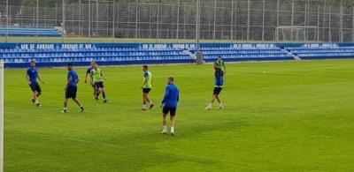 Хльобас, Рибалка, Корзун і Пантич тренувалися сьогодні окремо, а Коваль - з дублем «Динамо»