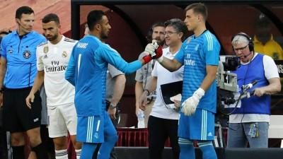 Андрей Лунин: «Была немного странная ситуация. Решили, что уйду в аренду, а вскоре Навас ушел из «Реала»