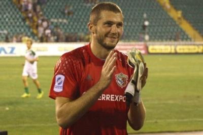 Голкіпер «Ворскли»: «Мій голеностоп не забуде першого побачення з «Динамо»
