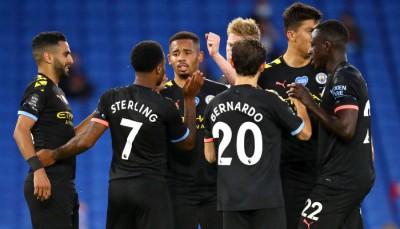 «Манчестер Сити» с Зинченко в составе разгромил «Брайтон»