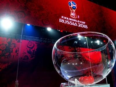Склад кошиків жеребкування фінального турніру ЧС-2018