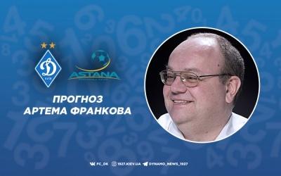 «Динамо» - «Астана»: прогноз на матч від Артема Франкова