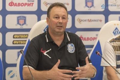 Ангел Червенков: «Шевчук і Ротань недосвідчені тренери, але їхня команда досвідчена»